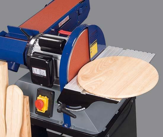 HOLZKRAFT BTS 200 kombinovaná bruska na dřevo