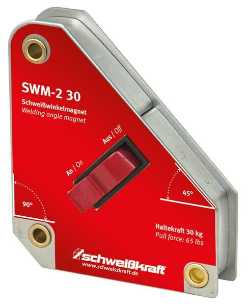 Schweißkraft®Vypínatelný svařovací úhlový magnet SWM-2 30