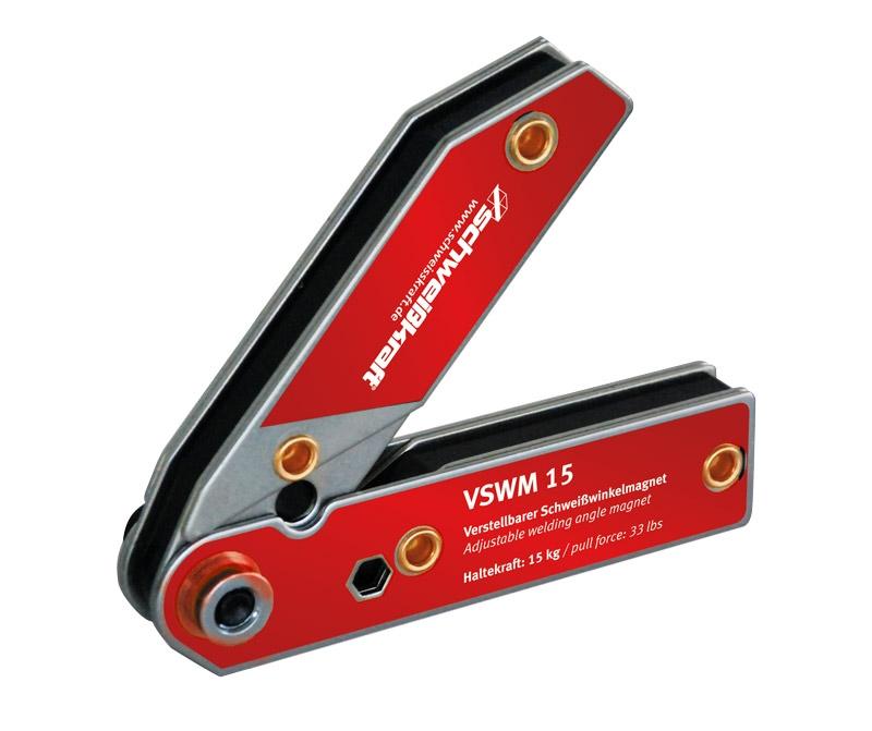 Schweißkraft Polohovatelný svařovací úhlový magnet VSWM 15