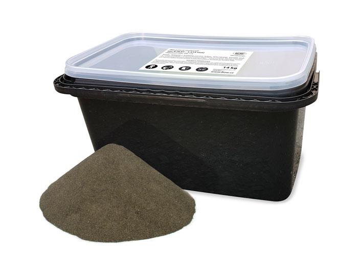 Abrazivo písek na pískování EVAM 14 kg, 0,01 - 1,315 mm (250119)