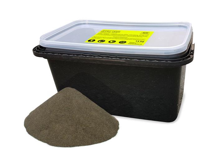 Abrazivo písek na pískování EVAM 15 kg, 0,2 - 1,8 mm (250123)