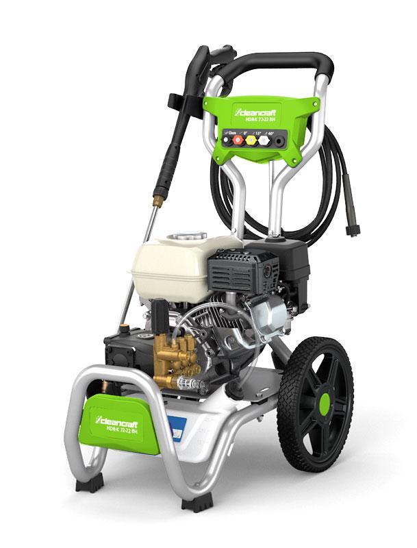 Cleancraft HDR-K 72-22 BH benzinový vysokotlaký čistič - 7103722