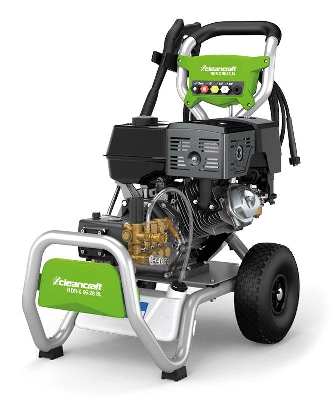 Cleancraft HDR-K 96-28 BL benzinový vysokotlaký čistič - 7109628