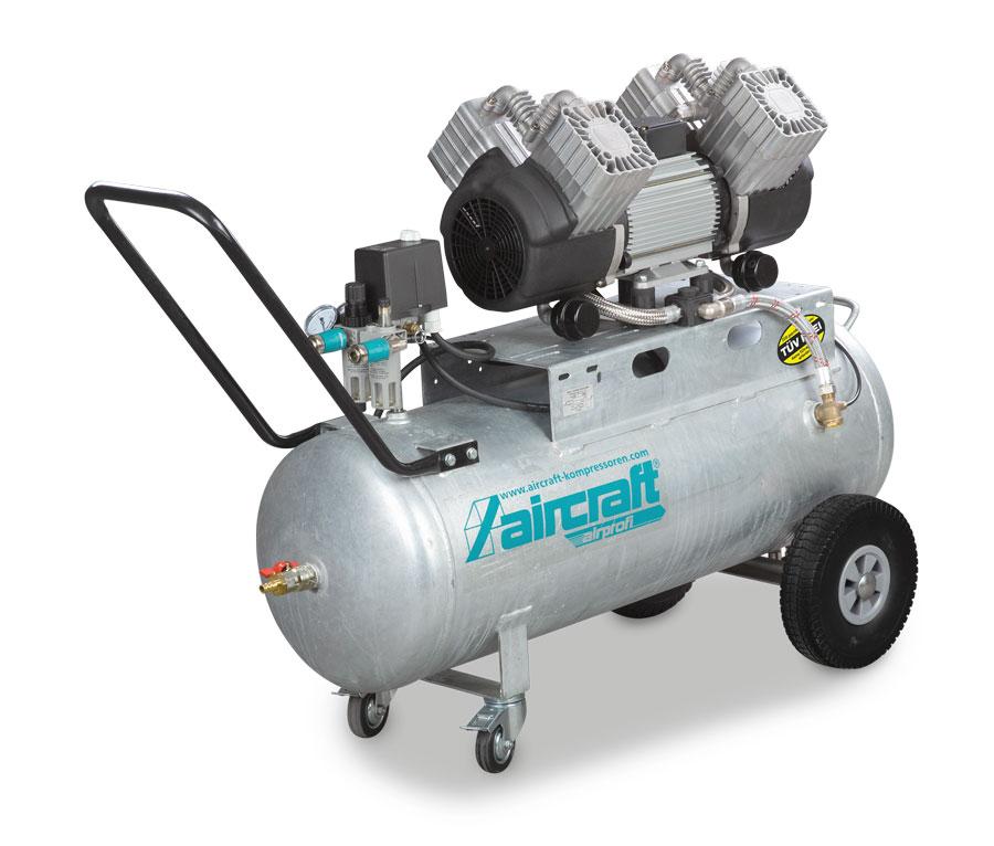 Aircraft Airprofi 440/100 OF PRO tichý bezolejový kompresor pro stálý provoz