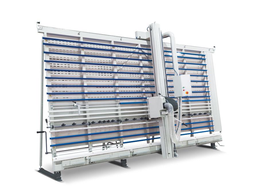 Vertikální panelové pily